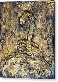 Egyptian Symbol For God Acrylic Print by Jeffrey Oldham