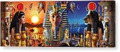 Egyptian Triptych 2 Acrylic Print