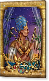 Egyptian Triptych Variant I Acrylic Print by Ciro Marchetti