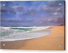 Ehukai Beach Acrylic Print