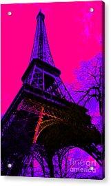 Eiffel 20130115v3 Acrylic Print by Wingsdomain Art and Photography