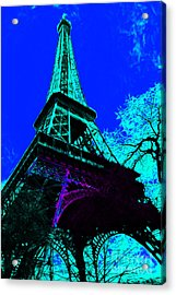 Eiffel 20130115v4 Acrylic Print by Wingsdomain Art and Photography