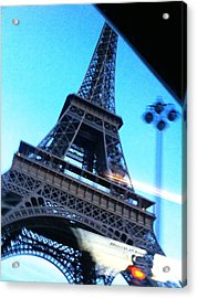 Eiffel In Motion Acrylic Print