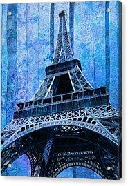 Eiffel Tower 2 Acrylic Print by Jack Zulli