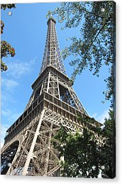 Acrylic Print featuring the photograph Eiffel Tower - 2 by Pema Hou