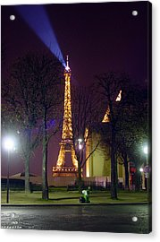 Eiffel Tower As A Lighthouse Acrylic Print