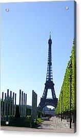 Acrylic Print featuring the photograph Eiffel Tower by Deborah Smolinske