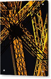 Eiffel Tower Detail Acrylic Print