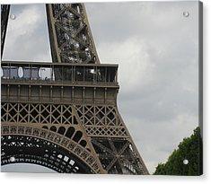 Eiffel Tower Detail Acrylic Print by Stephanie Hunter