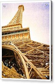 Eiffel Tower Acrylic Print by Edward Fielding