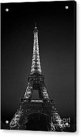 Eiffel Tower Infrared Acrylic Print