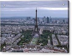 Eiffel Tower Acrylic Print by Ioan Panaite
