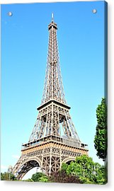 Acrylic Print featuring the photograph Eiffel Tower by Joe  Ng