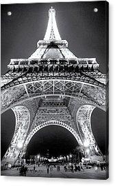 Eiffel Tower Acrylic Print by John Gusky