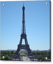 Acrylic Print featuring the photograph Eiffel Tower by Kay Gilley