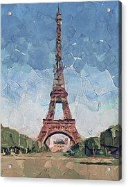 Eiffel Tower Nice 2 Acrylic Print