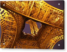 Eiffel Tower - Paris France - 011312 Acrylic Print by DC Photographer