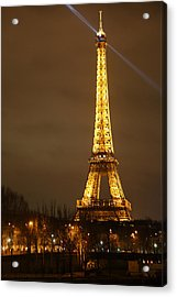 Eiffel Tower - Paris France - 011319 Acrylic Print