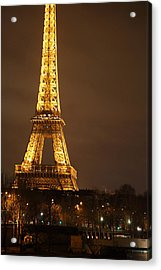 Eiffel Tower - Paris France - 011326 Acrylic Print