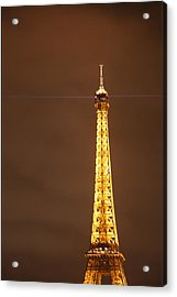 Eiffel Tower - Paris France - 011328 Acrylic Print by DC Photographer
