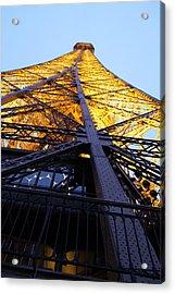 Eiffel Tower - Paris France - 01133 Acrylic Print