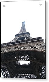 Eiffel Tower - Paris France - 01134 Acrylic Print by DC Photographer