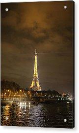 Eiffel Tower - Paris France - 011340 Acrylic Print by DC Photographer