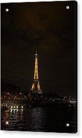 Eiffel Tower - Paris France - 011341 Acrylic Print by DC Photographer