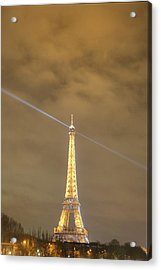 Eiffel Tower - Paris France - 011345 Acrylic Print by DC Photographer