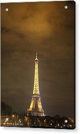 Eiffel Tower - Paris France - 011352 Acrylic Print
