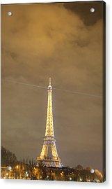 Eiffel Tower - Paris France - 011354 Acrylic Print by DC Photographer
