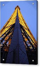 Eiffel Tower - Paris France - 01137 Acrylic Print by DC Photographer