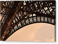 Eiffel Tower Paris France Arc Acrylic Print by Patricia Awapara