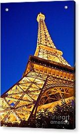 Eiffel Tower Paris Las Vegas Acrylic Print