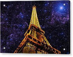 Eiffel Tower Photographic Art Acrylic Print