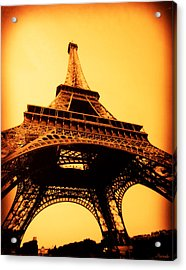 Acrylic Print featuring the photograph Eiffel Tower by Renee Anderson