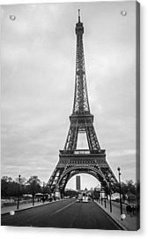 Eiffel Tower Acrylic Print by Steven  Taylor