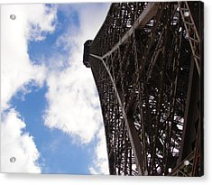 Acrylic Print featuring the photograph Eiffel Tower by Tiffany Erdman