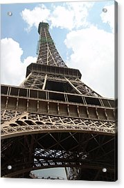 Eiffel Tower Acrylic Print by Tommy Budd