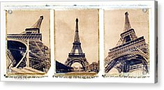Eiffel Tower Acrylic Print by Tony Cordoza