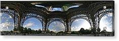 Eiffel Tower Unwrapped Acrylic Print by Gary Lobdell