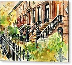 Eighth Street Acrylic Print