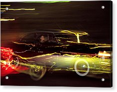 Acrylic Print featuring the photograph Eighty Eight Miles Per Hour by Jason Politte