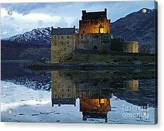 Eilean Donan Castle At Dusk Acrylic Print