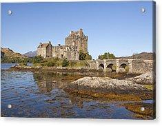 Eilean Donan Castle Acrylic Print by Eunice Gibb