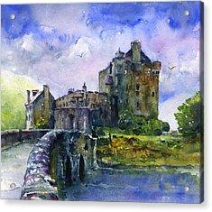 Eilean Donan Castle Scotland Acrylic Print