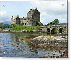 Eilean Donan Castle - Summer Acrylic Print