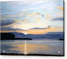 Eileen's Sunset Acrylic Print