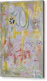 Acrylic Print featuring the painting Eileens Wedding by PainterArtist FIN