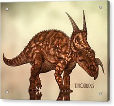 Acrylic Print featuring the photograph Einiosaurus by Bob Orsillo